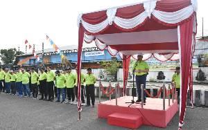Pemkab Kapuas Gelar Bersih-bersih di Peringatan Hari Peduli Sampah Nasional