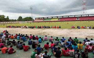 Ratusan Pemuda Kalteng Jalani Seleksi Jelang Liga 2