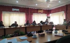 Bapemperda DPRD Palangka Raya Gelar Rapat Bahas Surat Wali Kota Tentang Perubahan RPJMD