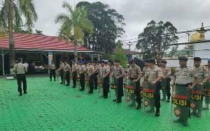 Polres Kobar Siap Jaga Kemanan Jelang Pilgub Kalteng