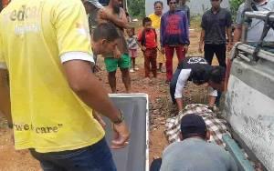 Penemuan Mayat di Jalan Raya Negara Runtu, Korban Diduga Sakit