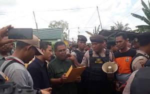 Sempat Ada Penolakan, Pengadilan Negeri Pangkalan Bun Tetap Eksekusi Lahan di Kelurahan Baru