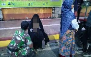 Anggota TNI Gagalkan Percobaan Bunuh Diri Seorang Wanita di Pangkalan Bun