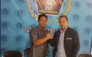 Ketua Bawaslu Silaturahmi Ke PWI Seruyan