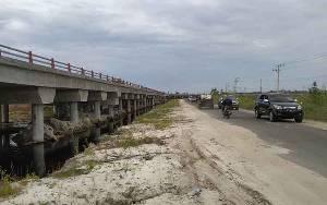 Pembayaran Ganti Rugi Lahan Jembatan Pile Slab Bukit Rawi Masih Menjadi Persoalan