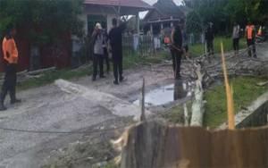 BPBD Palangka Raya Kembali Potong Pohon Rawan Tumbang