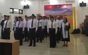 KPU Palangka Raya Lantik 25 Anggota PPK