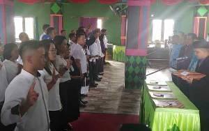 Setelah dilantik, 50 Anggota PPK Diminta Jaga Integritas Dalam Menjalankan Tugas