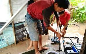 Kemenag, Baznas, dan Relawan HCP Palangka Raya Bikinkan Sumur Bor untuk Anak Yatim Piatu