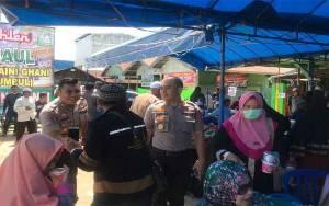 Kapolres Katingan Kunjungi Posko Rest Area Jamaah Haul Guru Sekumpul
