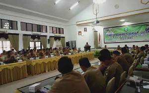 Pimpinan SOPD Diminta Lakukan Pengendalian dan Evaluasi Pelaksanaan APBD 2020