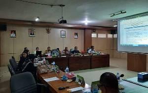 Banmus DPRD Barito Timur Rapat Susun Rencana Kerja