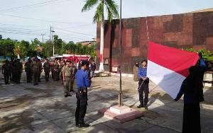 Peringatan HUT Satpol PP dan Damkar Kapuas Momentum untuk Tingkatkan Kinerja