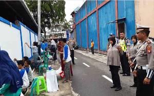 Satlantas Polres Kotawaringin Barat Edukasikan Tertib Lalu Lintas melalui Lomba Mural