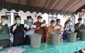 Ketua DPRD Barito Timur Harap Pemusnahan Barang Bukti Jadi Pembelajaran