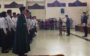 129 Anggota BPD Terpilih dari 25 Desa Dilantik Secara Serentak di Murung Raya