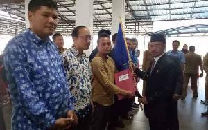 Bupati Seruyan Kukuhkan Pengurus Karateker Karang Taruna Kabupaten