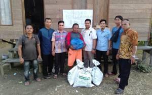 PKS Murung Raya Salurkan Bantuan Korban Kebakaran