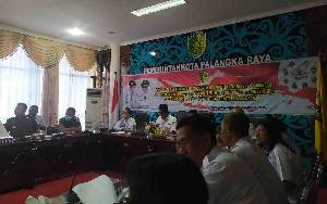Pemko Palangka Raya Gelar Rapat Koordinasi Pemberantasan Peredaran Narkoba