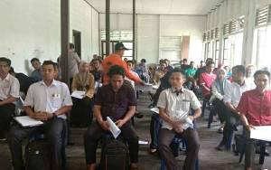 KPU Kapuas Mulai Tes Tertulis dan Wawancara Calon Anggota PPS