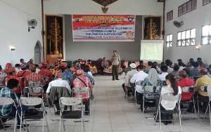 Polres Barito Selatan FGD Optmalisasi Peran Masyarakat Cegah Karhutla
