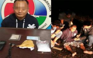 Bawa 50,41 Gram Sabu, Warga Desa Pasir Panjang Ditangkap Polisi