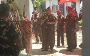 Kajati Kalimantan Tengah Berkunjung ke Kabupaten Murung Raya untuk Pertama Kali