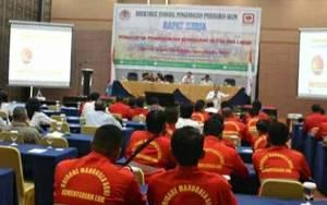 Danrem 102 Panju Panjung Hadiri Pembukaan Rapat Kerja Pemantapan PC Pengendalian Karhutla