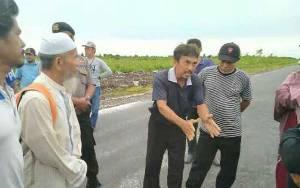 Eksekusi Lahan Kelompok Tani di Lingkar Utara Sempat Memanas