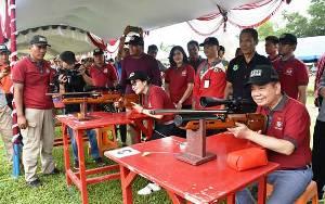 Kodim 1011 Kuala Kapuas Gelar Kejuaraan Menembak Nasional