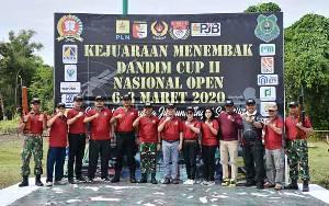Bupati Apresiasi Kodim 1011 Kuala Kapuas Adakan Kejuaraan Menembak Nasional Open