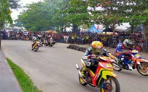 500 Starter Meriahkan Motor Prix Open Race 2020 di Taman Kota Sampit