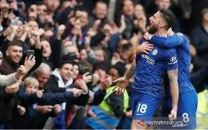Chelsea Gunduli Everton 4-0 Demi Pimpin Perburuan Empat Besar