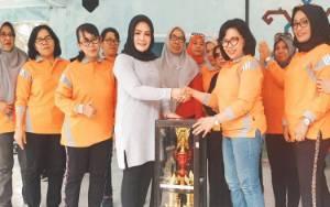 Menangi Cabang Lomba GOW Seruyan Bawa Piala Bergilir