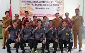 Siap Sukseskan Pilgub Kalteng, Bawaslu Barito Timur Gelar Bimtek Bagi Panwascam