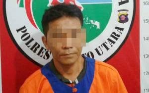 Anggota Polres Barito Utara Tangkap Bandar Sabu di Muara Teweh