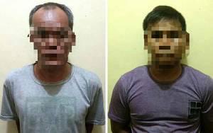 Polsek Kapuas Murung Amankan Dua Pelaku Pembobol Warung