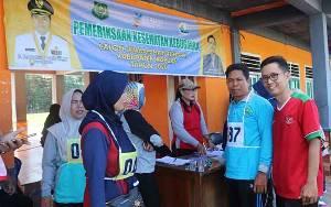Jamaah Calon Haji Kabupaten Kapuas Jalani Pemeriksaan Kesehatan Kebugaran Tahap II