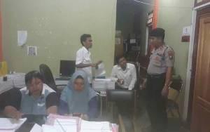 Polsek Murung Monitoring Tahapan Perekrutan PPS agar Tidak Ada Indikasi Politik