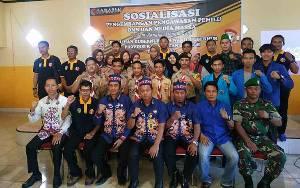 Organisasi Masyarakat Sipil dan Media Ikuti Sosialisasi Pengembangan Pengawasan Pemilu di Seruyan