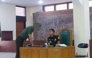 Pengadilan Militer Denpasar Adili Anggota TNI Asusila Sesama Jenis