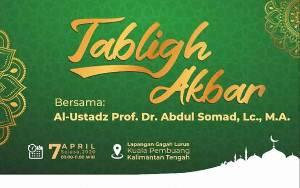 Ustadz Abdul Somad Hadiri Tabligh Akbar di Kuala Pembuang 7 April
