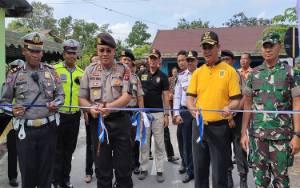 Polres Sukamara Canangkan Jalan Meranti Kampung Tertib Lalu Lintas