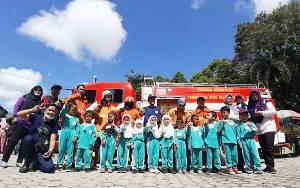Dinas Damkar Palangka Raya Kenalkan Alat dan Penanganan Kebakaran ke Anak PAUD