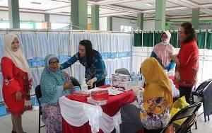 Calon Haji Kabupaten Kapuas Sudah Disuntik Vaksin Meningitis