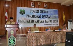 Wakil Bupati Kapuas Harapkan Sinergitas Lintas Perangkat Daerah Terus Meningkat