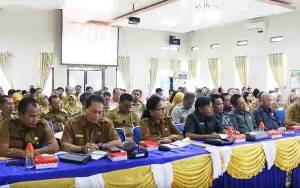 Wakil Bupati Barito Utara Buka Forum Gabungan Perangkat Daerah, ini Tujuannya