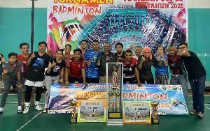 Kecamatan Cempaga Buktikan Kemampuan, Raih Juara Pertama Turnamen Bulutangkis Sahati Cup III