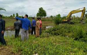 Penyelesaian Sengketa Tanah Kuburan Jangan Terkatung-katung, Excavator Diturunkan