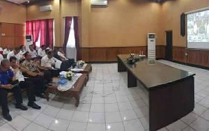 Pemkab Kapuas Ikuti Video Conference dengan Gubernur Kalteng Terkait Covid-19